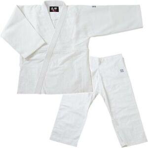 Japanese KUSAKURA AIKIDO Uniform Jacket Pants Obi Belt Set Size:4 White