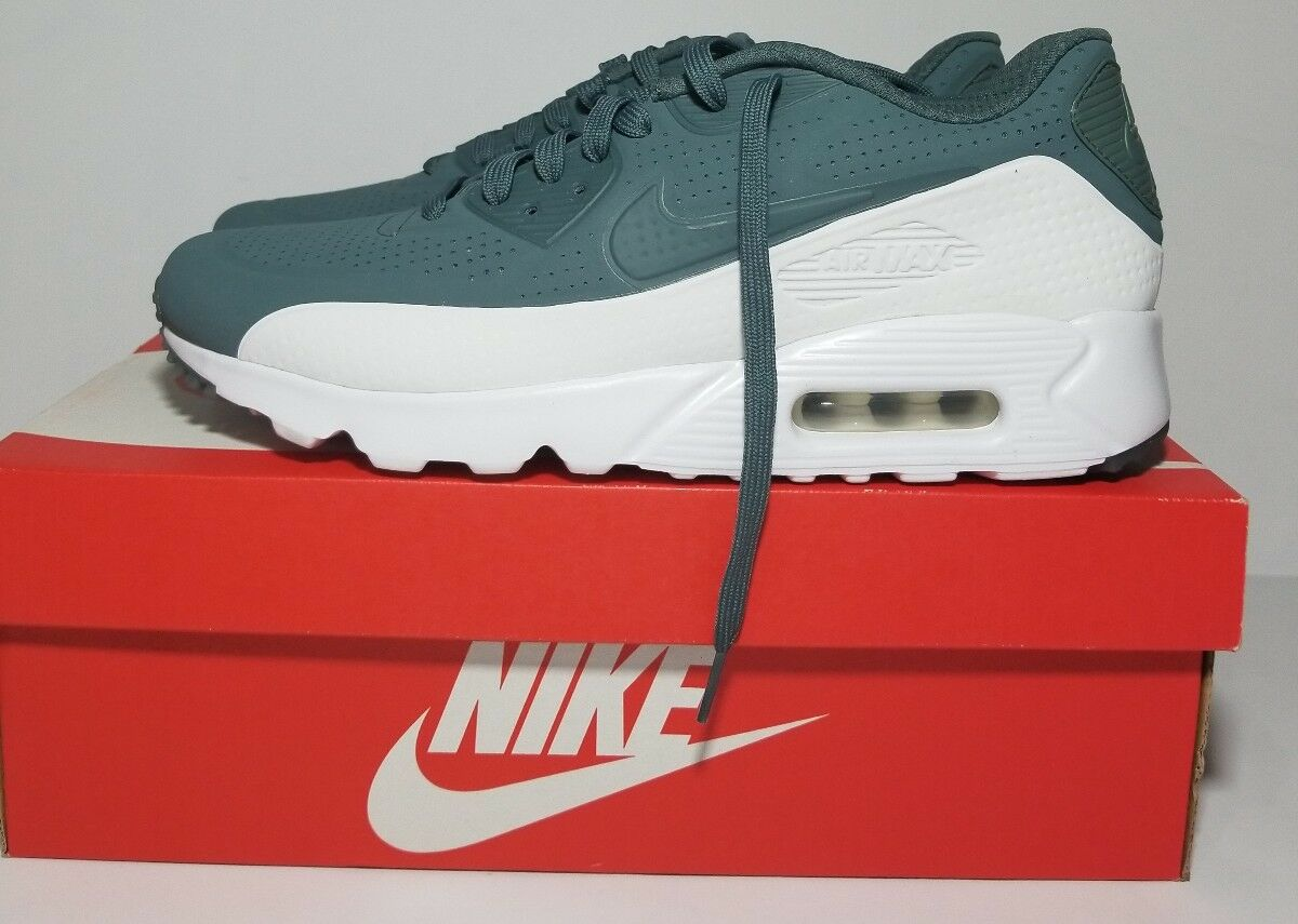 NEW NIKE AIR MAX 90 Ultra Moire Hasta/White Men's Shoes  819477 302 SZ 10