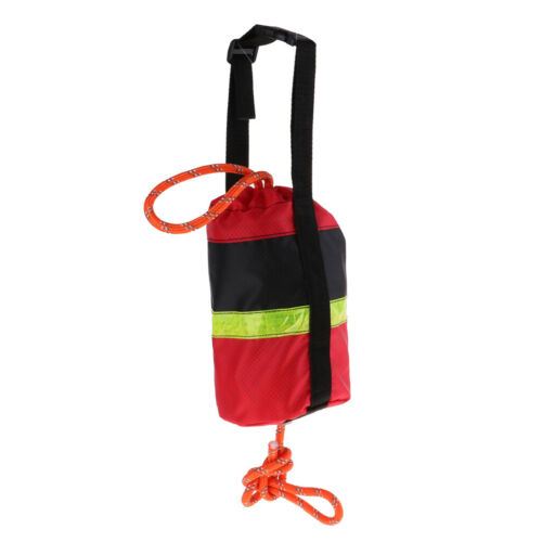 Throw Rope Rescue Line Reflective Rope Obvious Boat Anchor Safety with Bag