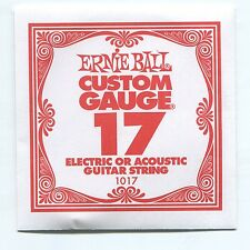 Ernie Ball Custom Gauge (17) Nickel Plain Single Guitar String - Regular Slinky