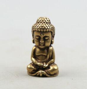 36MM-Collection-China-Bronze-Buddhism-Sakyamuni-Tathagata-Buddha-Pendant-Statue