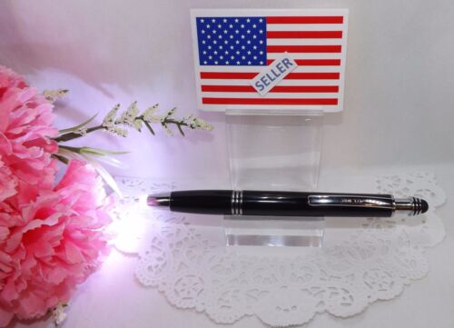 3 in 1 Corolla Lighted Tip Black Stylus Pen by Adler HIGH QUALITY