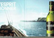 PUBLICITE ADVERTISING  056  2011  Glenfiddish  whisky ( 2p) L'esprit pionnier
