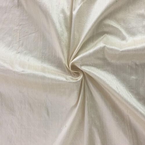 """Tela de seda pura de indio 100/% DUPIÓN Slub Seda Telar Manual Color Shot 44/"""" de ancho"""