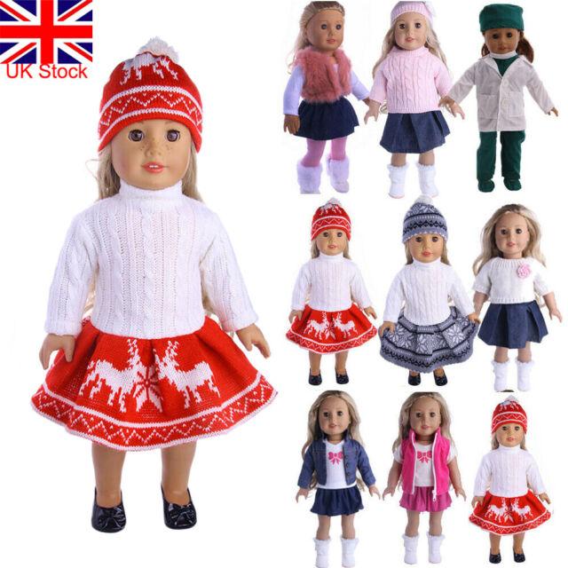 Ebuddy 3pcs Diamond Crystal Leotard Doll Clothes For American girl dolls