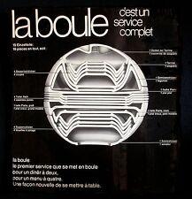 RARE VILLEROY & BOCH - LA BOULE INDIGO LIMITED EDITION - BY HELEN VON BOCH 1998