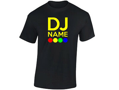 "Clever Dj ""your Name"" Britains Talent Personalised Mens Funny T-shirt (12 Colours)"