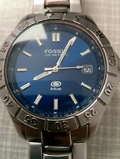 FOSSIL  BLUE HERREN - 100 M - AM 3772 - ARMBANDUHR