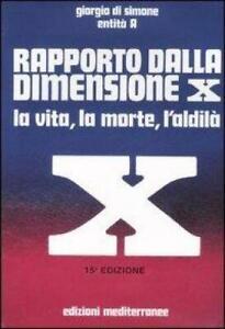 RAPPORTO-DALLA-DIMENSIONE-X-LA-VITA-LA-MORTE-L-039-ALDILA-CON-CD-AUDIO-DI-SIM