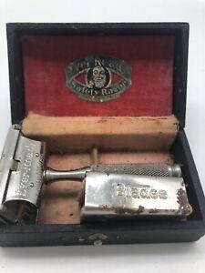 Ever-Ready-24-14-Vintage-Single-Edge-Safety-Razor-Box-Blades-American-Safety