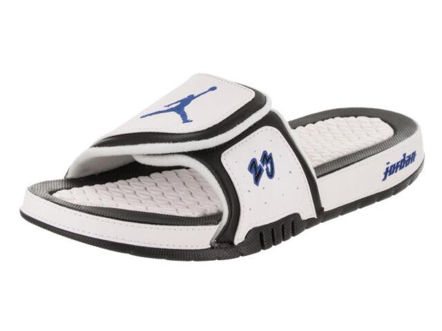 3ddba25c1487 Nike Jordan Hydro X 10 Retro White Royal Black Lot Aa2521 104 Mens Size 10