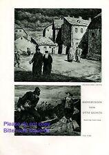 Polnisches Ghetto & Der Dieb Druck 1929 Otto Quante * Minden † Naumburg Judaika