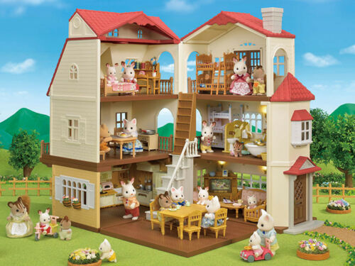 Sylvanian Families Calico Critters Red Roof Cozy Cottage