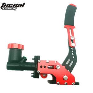 Red-Racing-Car-Hydraulic-E-BRAKE-Drift-Rally-Lever-Handbrake-Gear-With-Oil-Tank