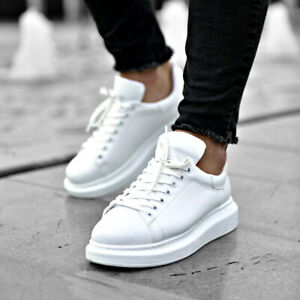 Details zu Apollo Mens Sneakers Alexander Mcqueen Style with 3 Colors Option