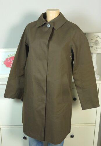 Grün Gr 36 S Mantel Raincoat Regenmantel be18 Khaki Mackintosh wqAT7Ix6