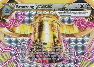 x1 Bronzong BREAK - 62/124 - Rare BREAK Pokemon XY Fates Collide NM