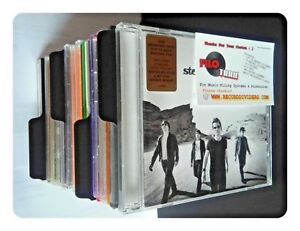 20-x-CD-Dividers-Black-Filotrax-Tabs-for-your-CD-shelf-unit-filing-display
