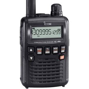 ICOM IC-R6  Ricevitore portatile ad ampia copertura 0,1~1310 MHz 3459
