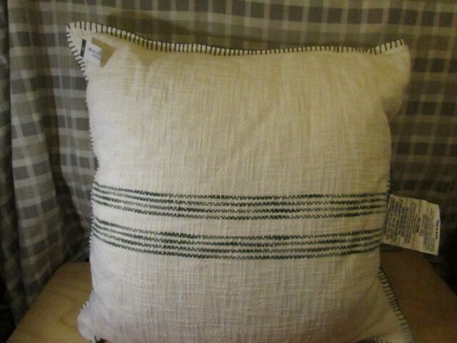 Yellow Oversized Threshold 24x24 Houndstooth Couch Throw Pillow For Sale Online Ebay