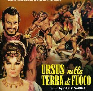 Carlo Savina - Ursus Nella Terra Di Fuoco - Digitmovies - Cd Nuovo