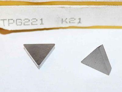 KENNAMETAL TPG221 K850 CARBIDE INSERT 5PCS//PK-NIB