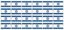 Kfz-Aufkleber Flagge Israel Set RB