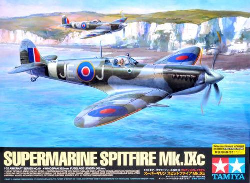 Spitfire Mk. IX C 1 32 Aircraft Model Kit - Tamiya 60319