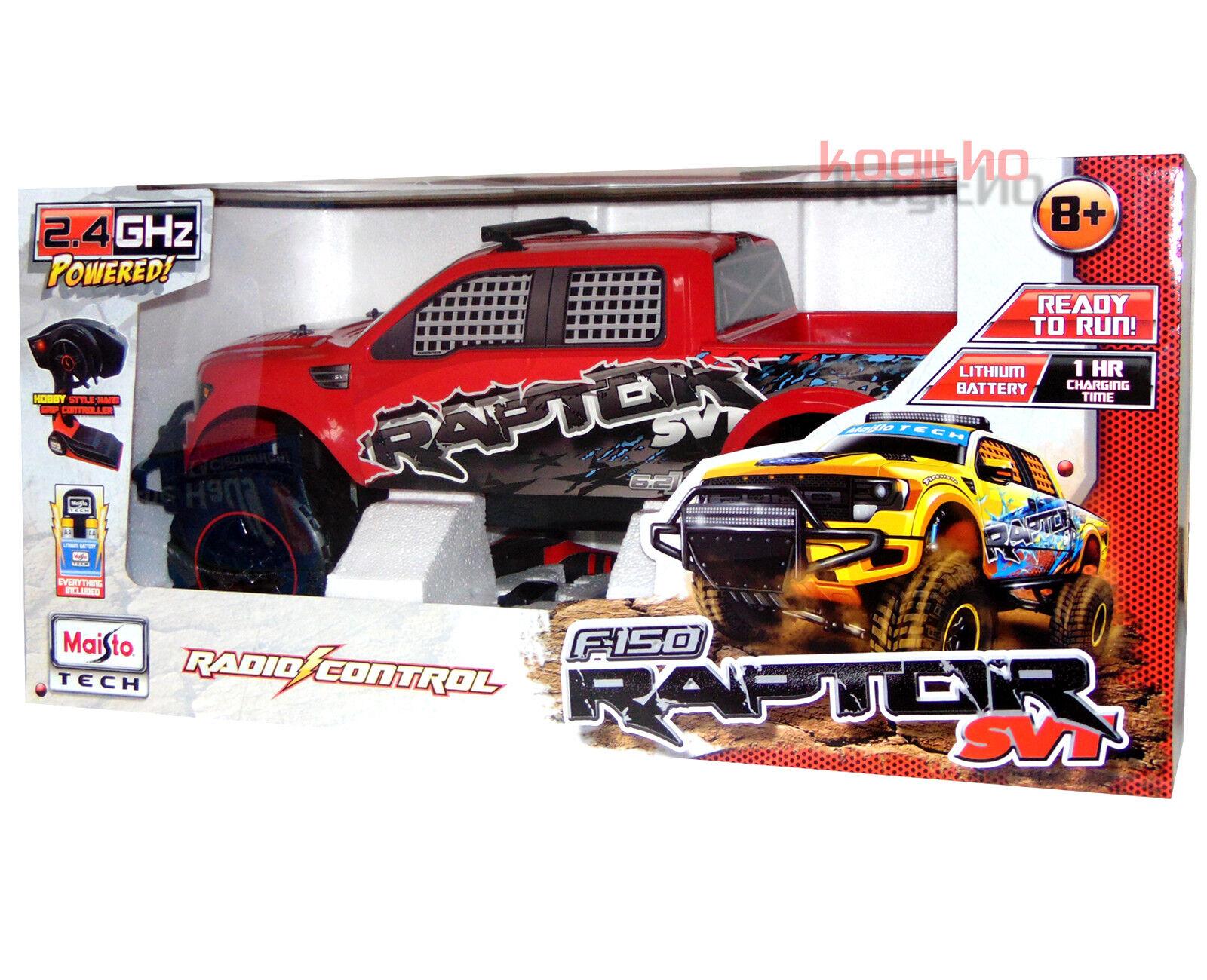Maisto Tech RC Ford F150 Raptor SVT Teledirigido Vehículo Auto Pickup SUV 70cm