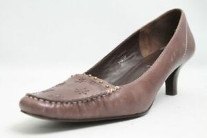 Esprit-Pumps-braun-Leder-Gr-40-UK-6-5