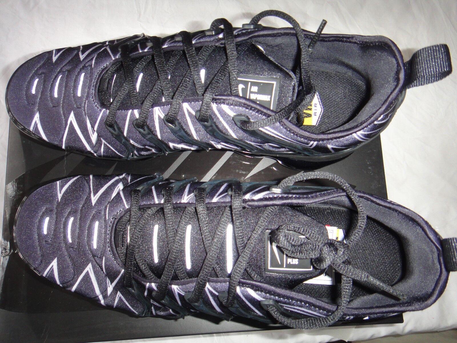 Nike Air VaporMax VaporMax VaporMax Plus HL Zig-Zag AJ6312-001 Bianca Nera Taglia RARO!!! 5b9c34