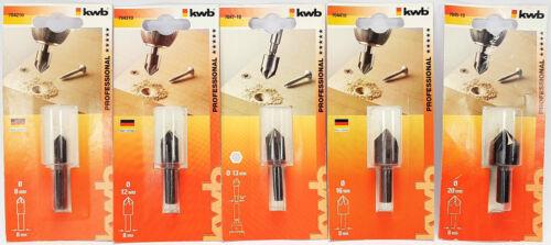 Kegelsenker für Holzbearbeitung Senkbohrer Entgrater für Holz Holzbohrer 12-16mm