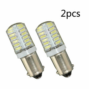 2PC-BA9S-T11-T4W-3014-LED-24-SMD-Car-Side-Light-Bulb-Interior-Lamp-White-Set
