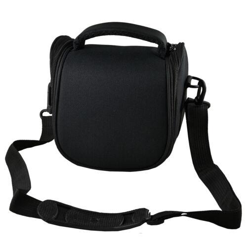 AB2 negro cámara caso bolsa para cámara de sistema compacto Canon EOS M