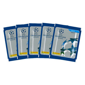 10 Packs Panini 2012 - 2013 Champions league Sticker Collection - 12/13 Stickers