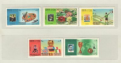 -1970- Serie Tematiche Complete ** N°228,29,31 Shar Q6425 Vedi Foto Lovely Luster