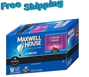 Maxwell-House-French-Roast-Dark-Roast-Coffee-Keurig-k-cups