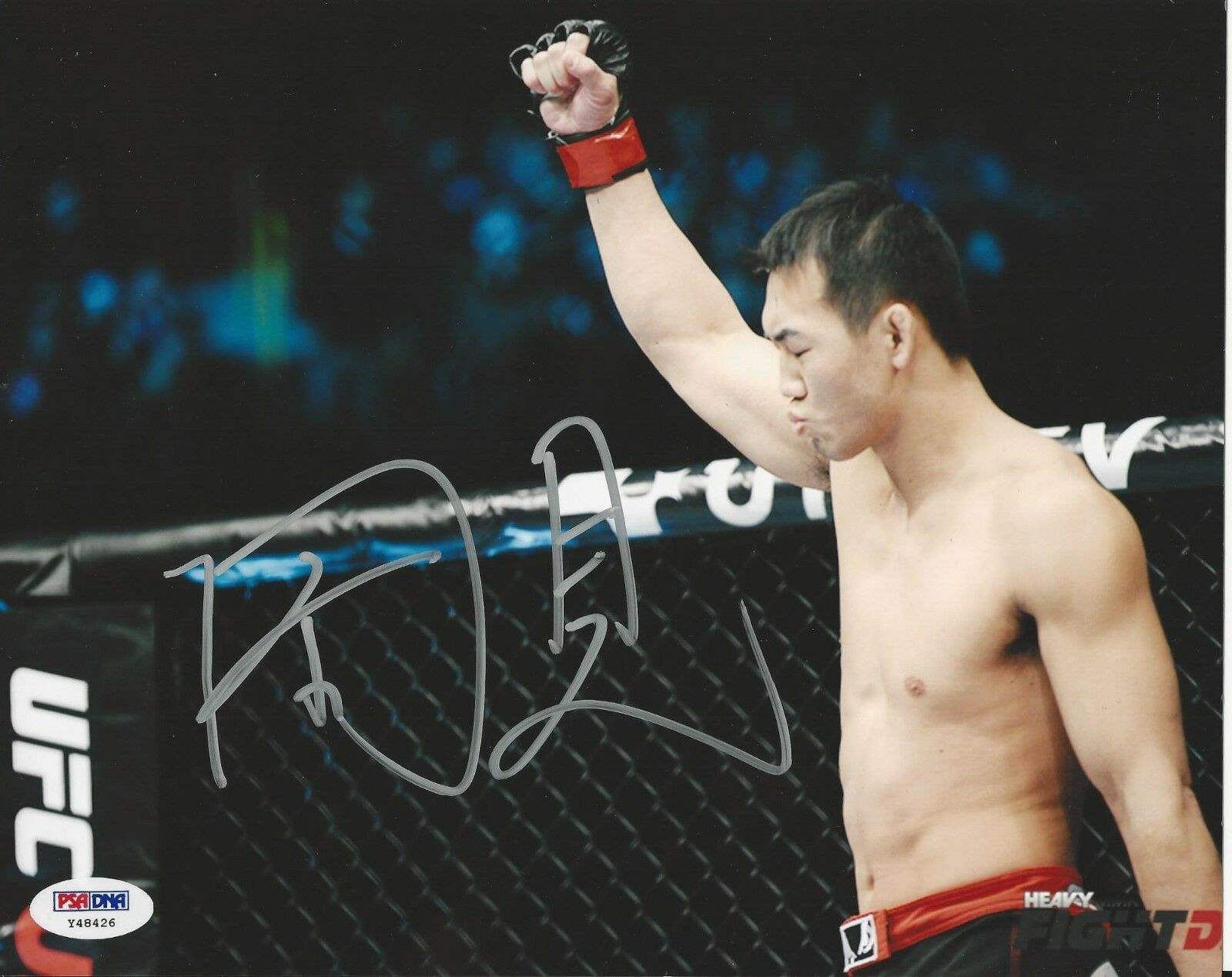 Yushin Okami UFC Fighter signed 8x10 photo PSA/DNA # Y48426