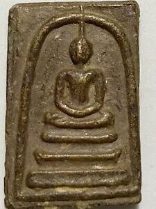 PHRA SOMDEJ JITLADA LP RARE OLD THAI BUDDHA AMULET PENDANT MAGIC ANCIENT IDOL#1