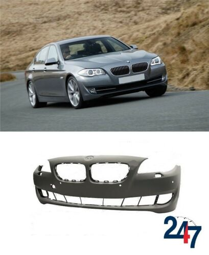 NEW BMW 5 SERIES F10 NON LCI FRONT BUMPER WITH HEADLIGHT WASHER AND PDC HOLES