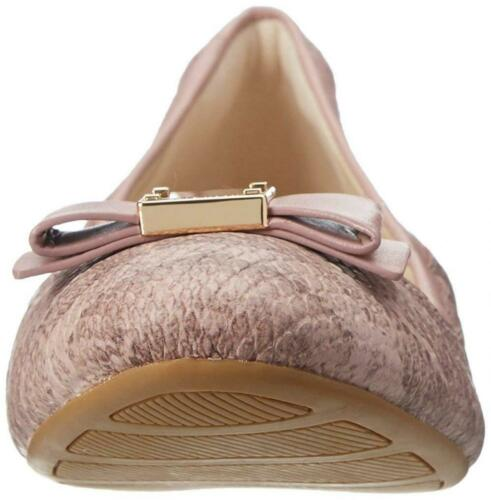 Cole Haan Women Tali Bow Ballet Flat Leather Comfort Classic Work Slip-On Sandal