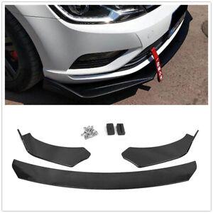 Glossy-Front-Bumper-Lip-Spoiler-Body-Kit-For-02-19-Subaru-Impreza-WRX-STI-Sedan