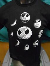 Mens Licensed Nightmare Before Christmas Jack Skellington Moons Shirt New M