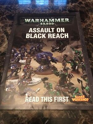 Umoristico Warhammer 40,000 Assalto Ad Black Beach Games Workshop-mostra Il Titolo Originale Squisita (In) Esecuzione