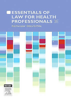 1 of 1 - ESSENTIALS of LAW FOR HEALTH PROFESSIONALS 3 E