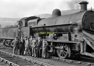 PHOTO-LMS-LOCO-NO-49064-AT-TREDEGAR-ON-8TH-AUG-1959-2