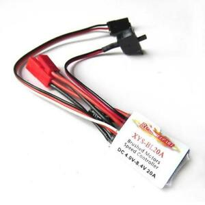 RC-20A-Brushed-ESC-Speed-Controller-for-1-16-1-18-Car-Tank-Boat-w-Brake