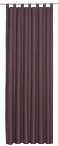 Elbersdrucke boucles écharpe twilight black-out tissu violet 194116