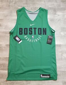 new style d1440 7e420 Details about NIKE NBA BOSTON CELTICS Reversible Practice Jersey MEN large  L BRAND NEW NWT