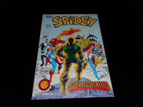 Spidey 76 Editions LUG 1986